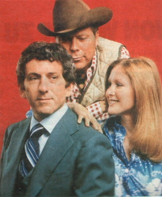 Barry Newman mit Susan Howard und Albert Salmi